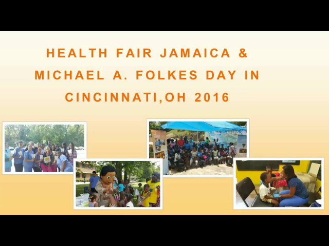 Health Fair Highlights Jamaica & MAF Day in Cincinnati, Ohio 2016